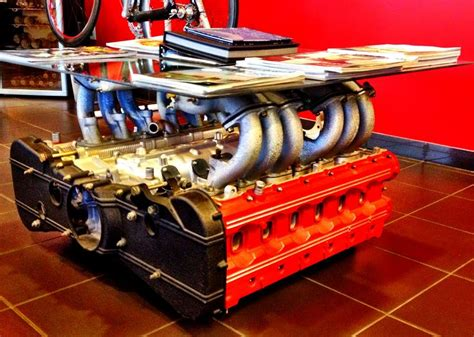 Engine Coffee Tables Coffee Table Transforms Engines Into Coffee Tables Motor Block Coffee Table Engine Coffee