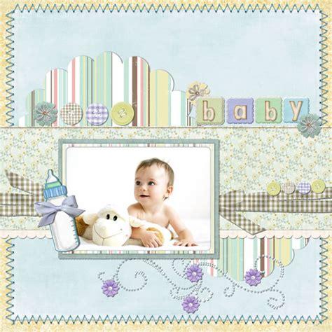 scrapbook templates baby baby scrapbook templates baby scrapbook sles
