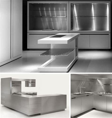 design concept steel ltd ultramodern steel kitchen interior concept designs