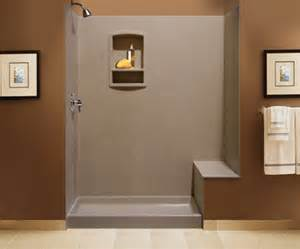 Swanstone Bathtub Swanstone Shower Wall Kit Bench Seat