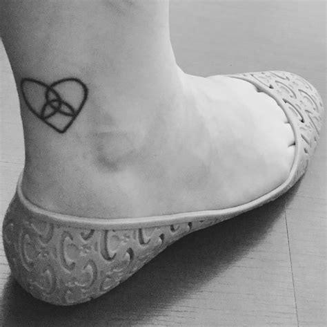 triquetra tattoo pinterest heart triquetra tattoo flamin eight cute tattoos