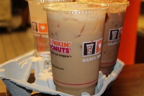 Iced Coffee Dunkin Donuts 9 classic go to orders when you re at dunkin donuts