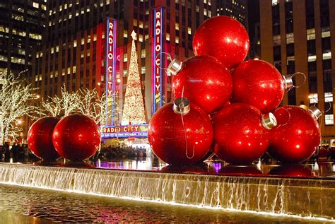 giant christmas ornaments decoration in nyc 10 things to do this winter in nyc