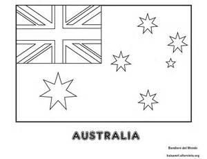 bandiera australia da colorare bandiera australiana da
