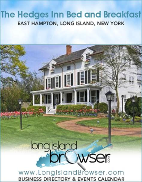 long island bed and breakfast the hedges inn bed and breakfast east hton long island new york