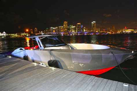 boat show pictures more than 100k visitors expected at miami int l boat show