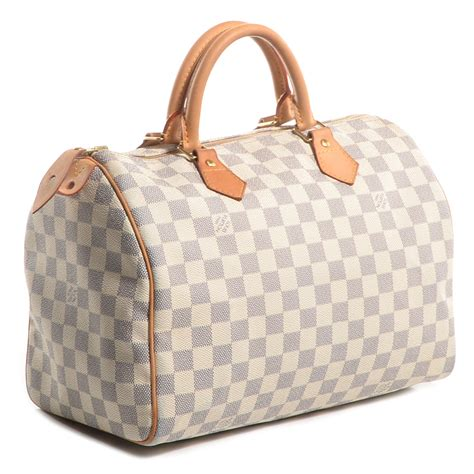 Louis Vuitton Speedy Bandou Damier Sz 25cm louis vuitton damier azur speedy 30 74203