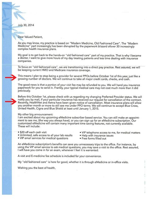 Insurance Letter To Patient Doctors Begin To Refuse Obamacare Patients Page 10 Ar15