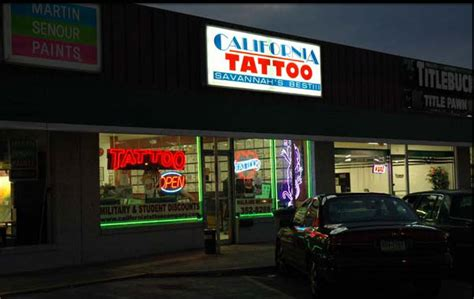 tattoos savannah california tattoo shop body piercing