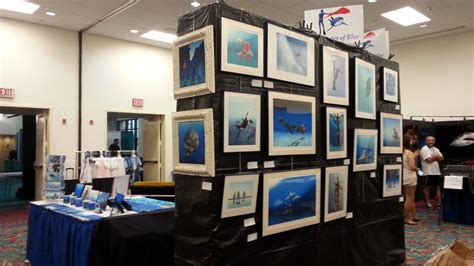 fort lauderdale boat show raffle pascal lecocq the painter of blue 174 blue wild expo archive