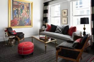 room impressive modern red