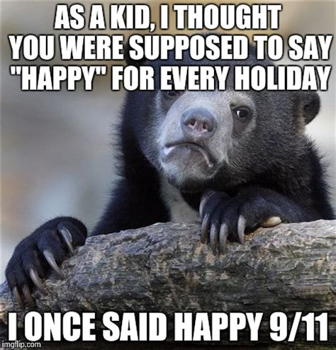 Happy Thoughts Meme - confession bear meme imgflip