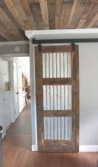 how to hang a barn door inside rustic style barn door modern industrial