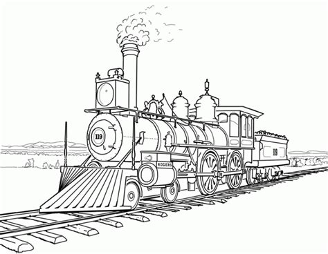 steam train coloring pages hd printable coloring pages