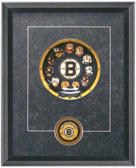 boston bruins hockey sports framed wall decor