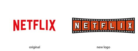 Letter Netflix Designer Creates Fascinating Re Designed Brand Logos And Improves Them The Local Brand 174