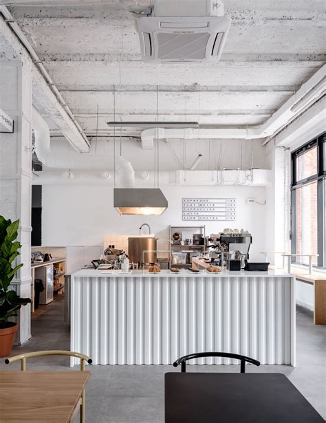 asketik celebrates black white minimalism  cafe