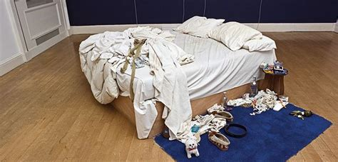 on my bed tracy emin 20 years the notorious artist s first