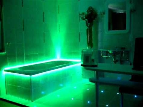 badewanne beleuchtung led smd 5050 rgb wasserdicht ip67 und eine badewanne