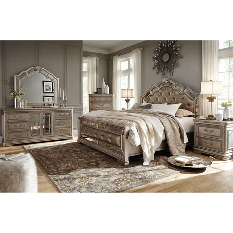 signature design  ashley birlanny bedroom mirror  mirror panels royal furniture