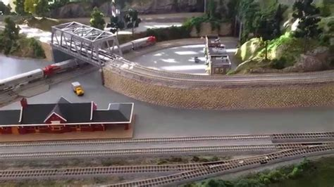 kato layout video n scale train layout with kato unitrack first look youtube