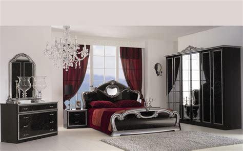 Klassisches Schlafzimmer by Klassisches Schlafzimmer Schwarz Silber Hochglanz