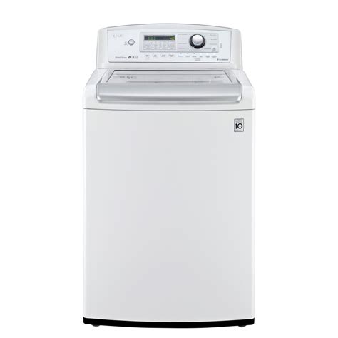 Lg Top Loading Washer T2350vsam shop lg 4 9 cu ft high efficiency top load washer white