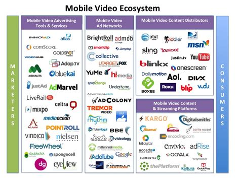 mobile vas companies infographic inside the booming mobile ecosystem