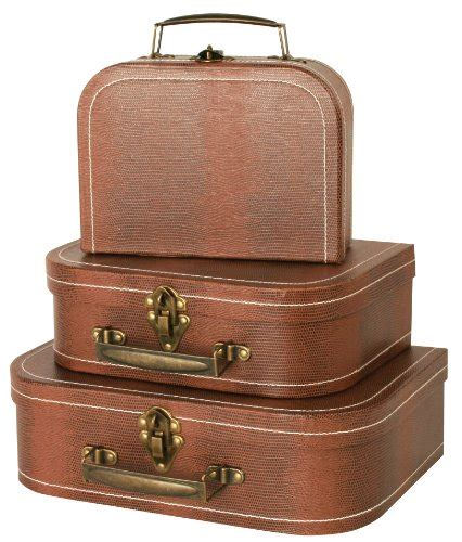 vintage suitcases for the home