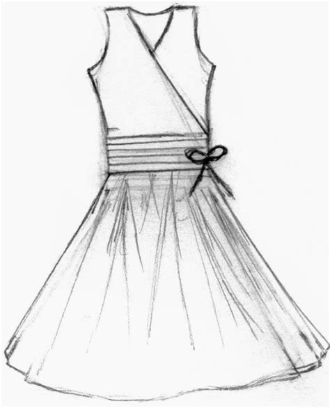 drawing a pattern for dress fashion design sketches of short dresses 2015 2016