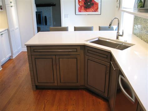 Corner Kitchen Sink Cabinet Designs | peninsula kitchen layout best layout room