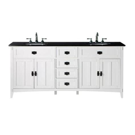 home depot granite bathroom vanity home decorators collection artisan 72 in w x 20 1 2 in d