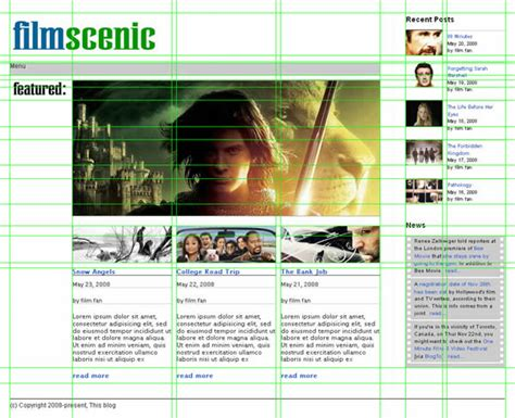 graphic design software for magazine layout prototype a magazine style home page template with the