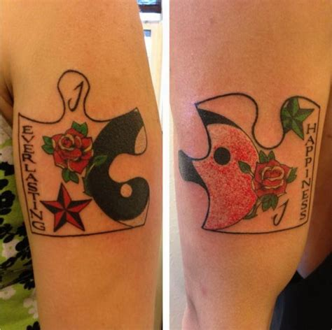 cool matching couple tattoos 50 matching ideas