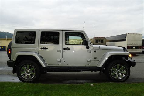 Jeep Wrangler Unlimited Anniversary Edition 2011 Jeep Wrangler Unlimited 70th Anniversary Edition