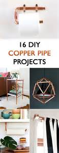 diy home decor for 16 diy copper pipe projects for home d 233 cor
