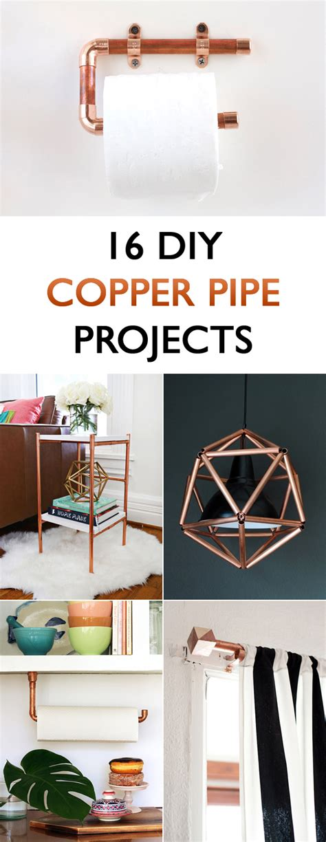 diy projects for home decor 16 diy copper pipe projects for home d 233 cor