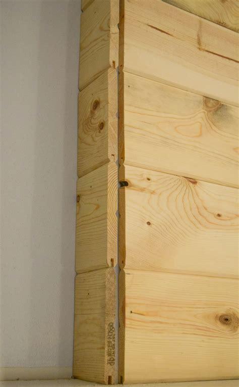 Wood Plank Wall Corners