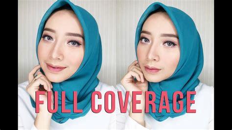 tutorial makeup fathi nrm full coverage make up tutorial ft avoskin