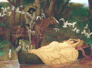 i cavalieri della tavola rotonda riassunto lancillotto lago