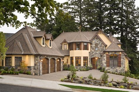 This Luxury European Cottage House Plan 4912 Combines Executive Bungalow House Plans