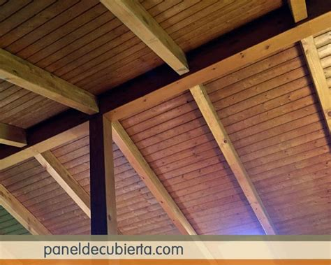 techos decorativos de madera fotos de techos de madera r 250 sticos con aislamiento t 233 rmico