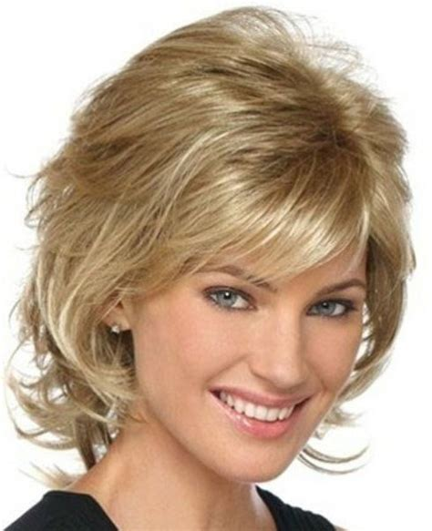 bob hairstyles with side flip layered short haircuts with side swept bangs short