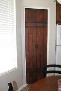 bifold barn door simpsonized crafts turning bi fold doors into faux barn