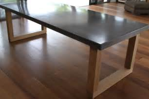 Concrete Kitchen Tables Oval Wood Dining Tables