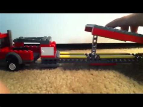 lego boat and trailer instructions lego 5th wheel trailer youtube