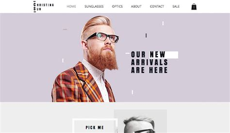 Health Beauty Website Templates Online Store Wix Clothing Brand Website Template