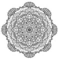 mandala coloring pages wikipedia beautiful flowers detailed floral designs coloring book