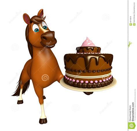 imagenes de feliz cumpleaños con caballos personaje de dibujos animados lindo del caballo con la