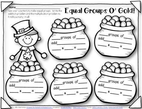 Multiplication As Equal Groups Worksheets by Pin By Ryzenga On Around The World